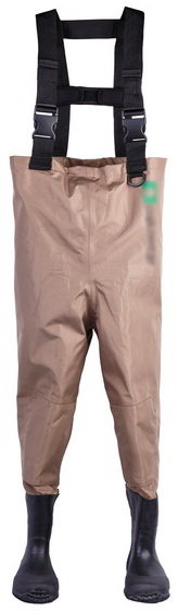 Kids Waterproof Breathable Play Chest Wader Muddy Puddles Wader (7798C)