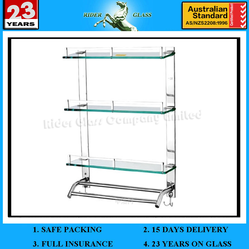 High Quality 4mm-12mm Furniture Shelf Glass with Tempered Glass