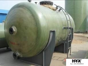 FRP Horizontal Tank for Sewage Treatment