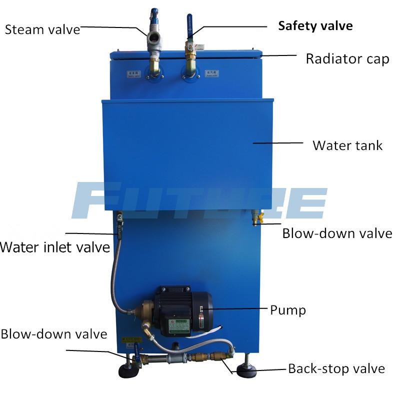 50 Kg/H High Efficiency Electric Steam Boiler for Bath