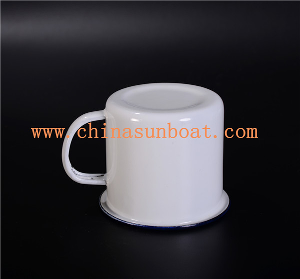 Sunboat Enamel Thickening Mug Tableware Kitchenware Teacup Oil Cup Tableware