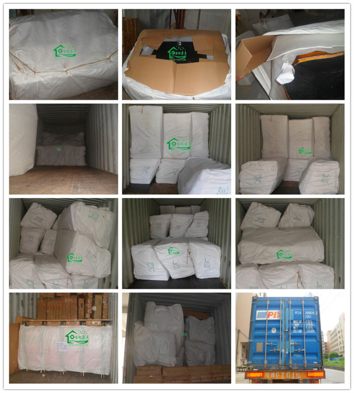 Fabric Sofa Set / Living Room Sofa / Wooden Sofa (YF-D801)