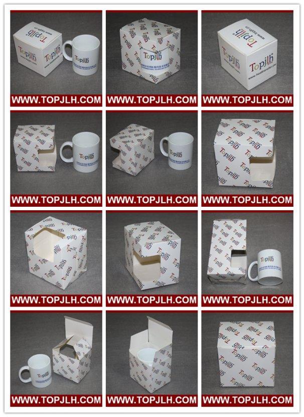 Accept Customized Design Sublimation 11oz Mug Box