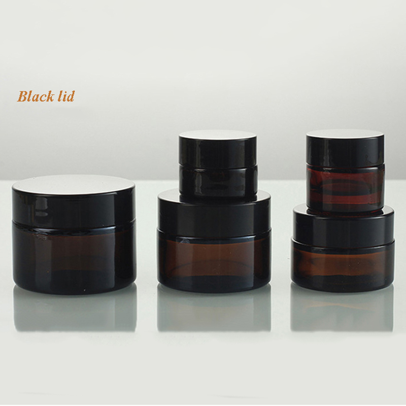 Glass Jar with Aluminum Lid (NBG17)