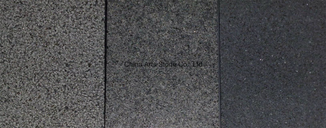Nature Surface Black Granite Coping for Fence Wall