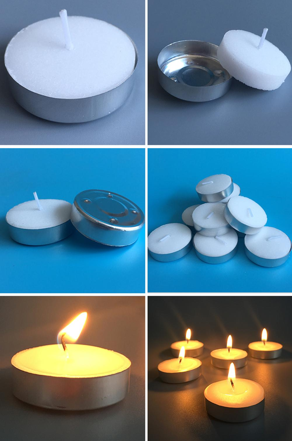 Lighting Tea Light Candles