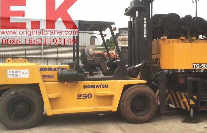 25ton Japanese Komatsu Diesel Forklift (FD250-7)