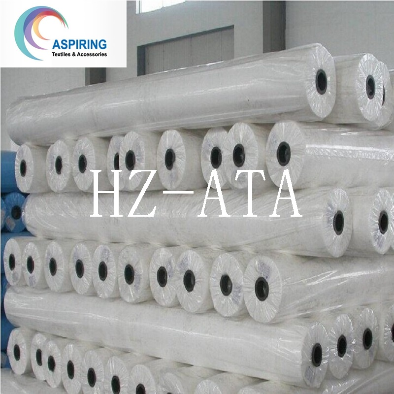 White/Blue/Red/Black and So on DOT Style Nonwoven Fabric