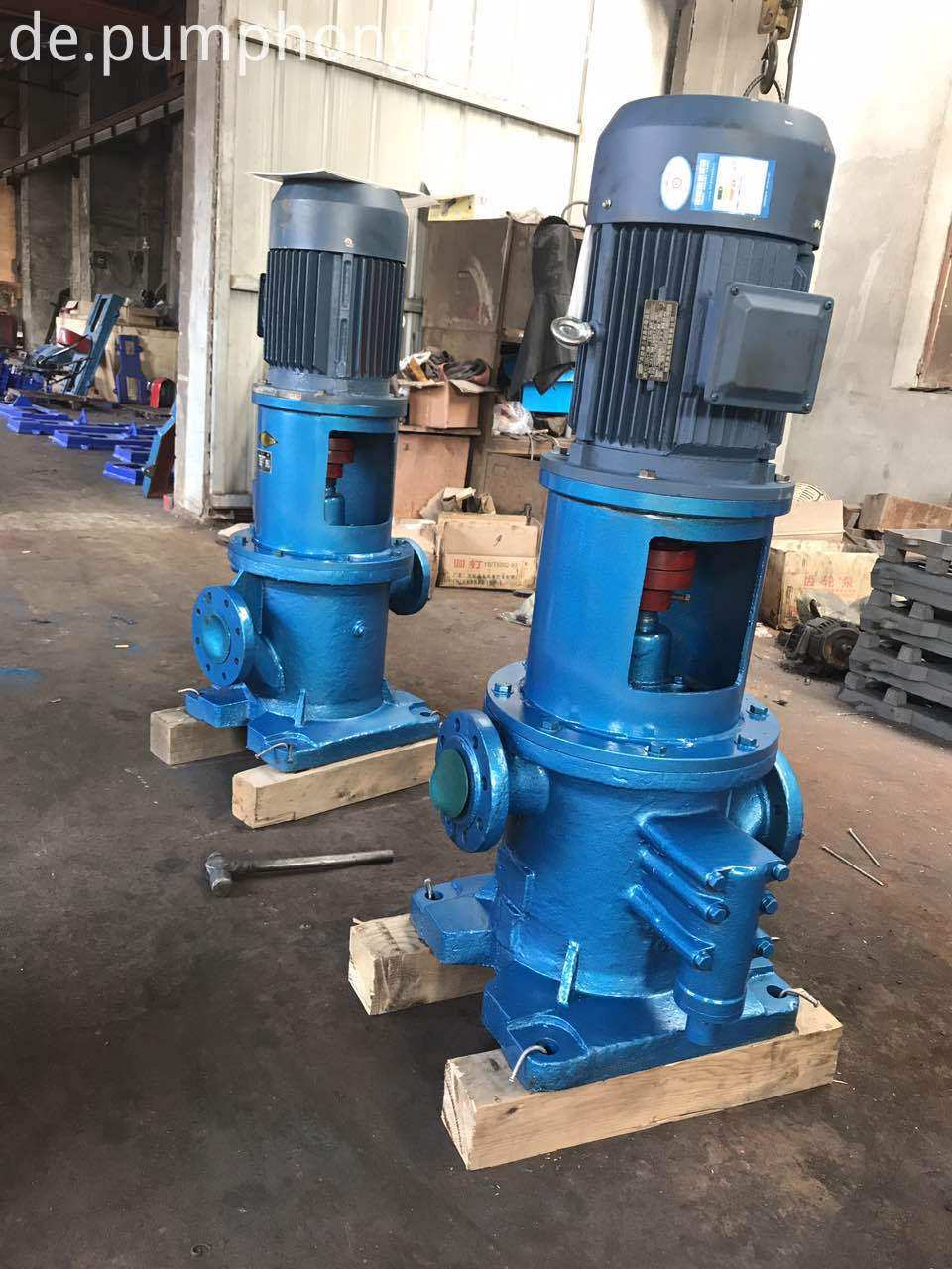 Oil Transfer Three Screw Pumps