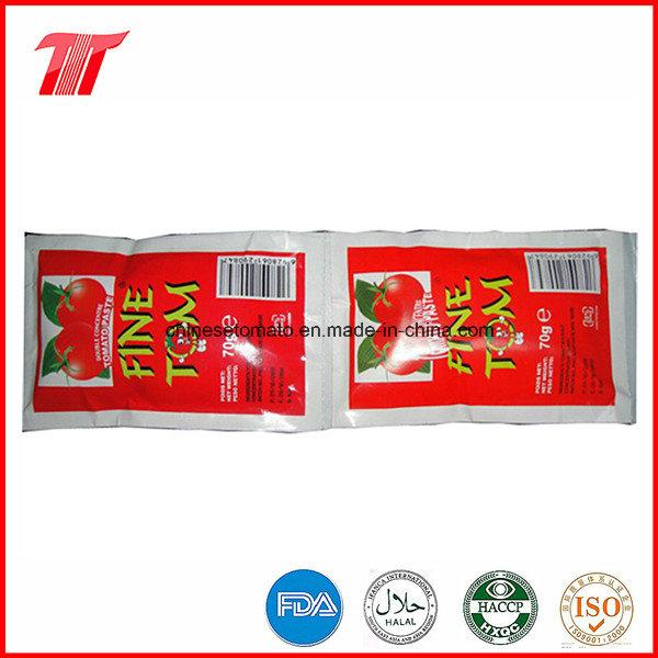 70g Fine Tom Organic Sachet Tomato Paste