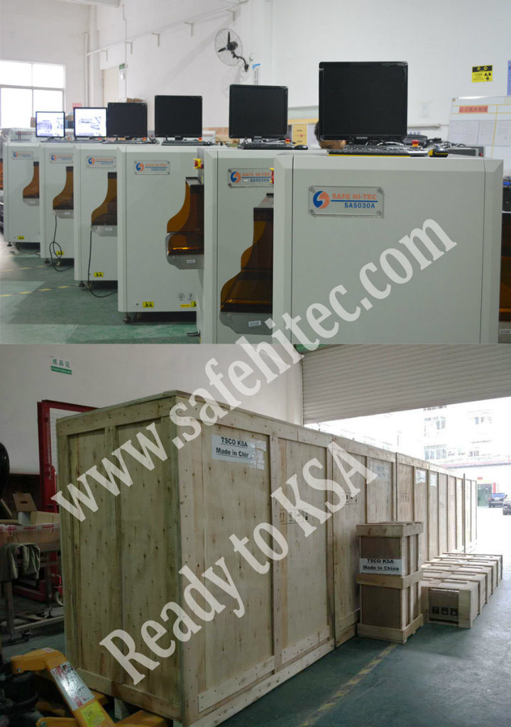 Security X-ray Screening Scanning Metal Detector with Intelligent Software SA5030A