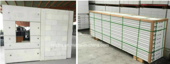 Precast Steel Reinforced Autoccaved Lightweight Concrete AAC Wall Panel