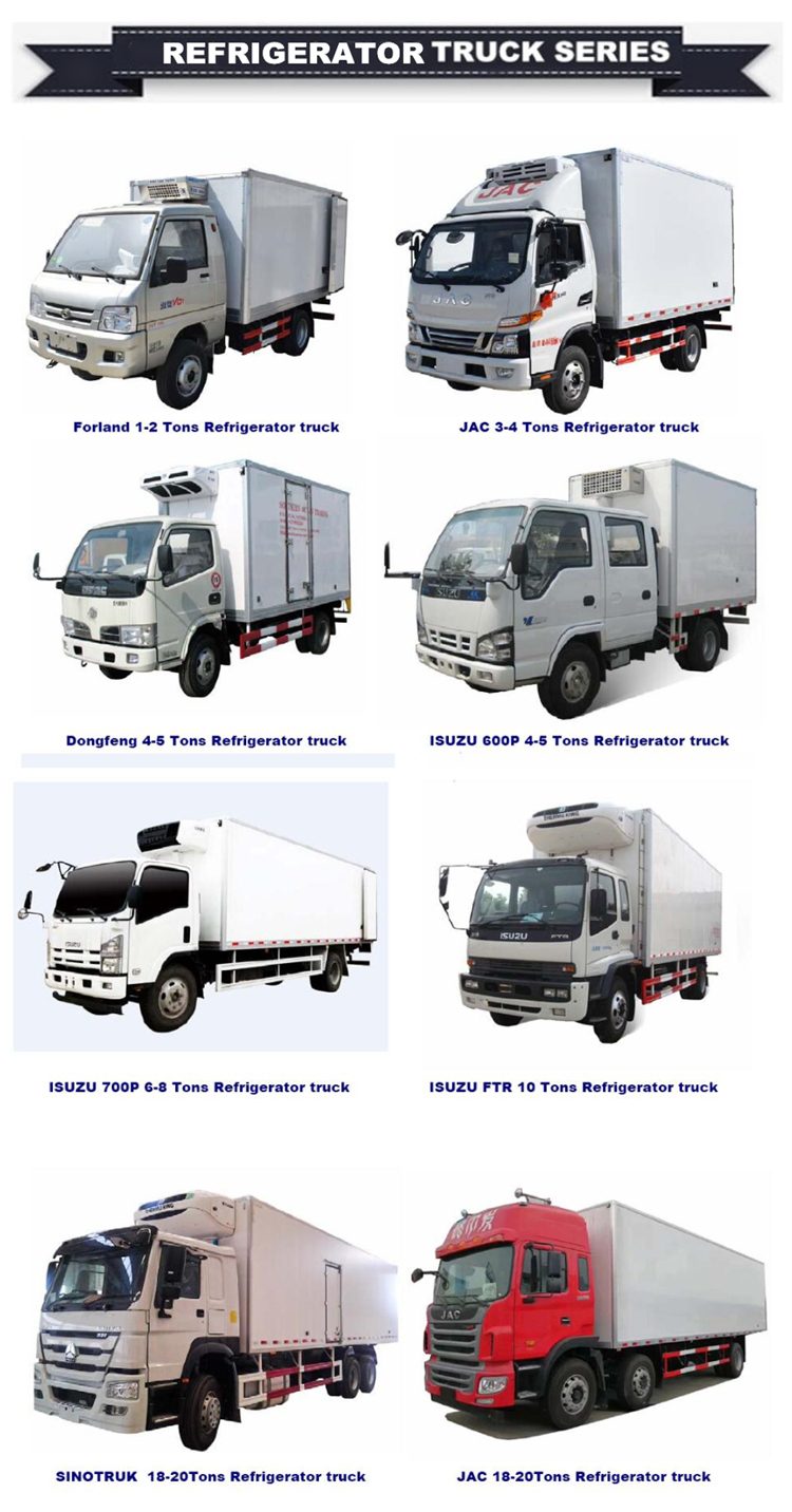 -40c Kooltube Eutectic Truck Refrigeration Unit 5.1m Length Ice Cream Truck Body