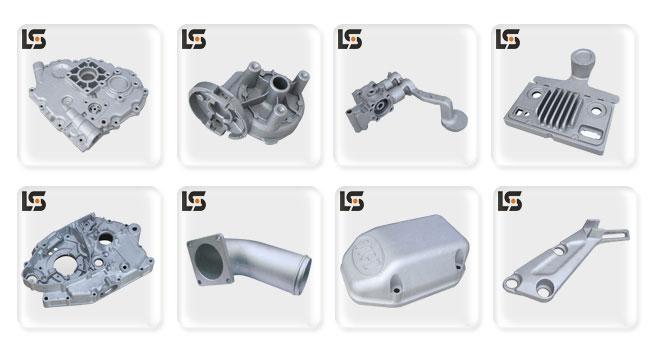 Aluminium Die Casting Washing Air Duct of Machine Part