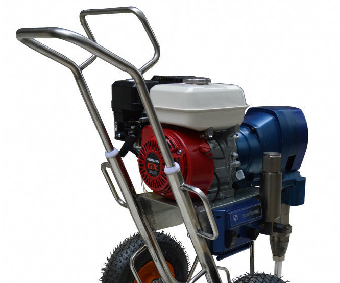 Gasoline Engine Airless Paint Sprayer with 8.3L