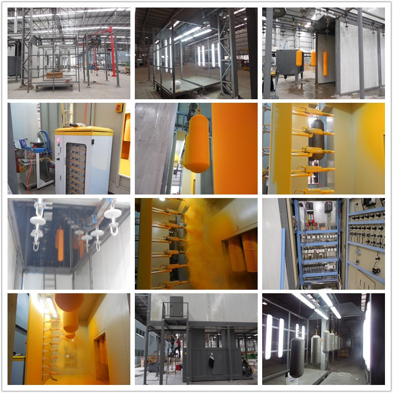 Newest Automatic Powder Coating Machine