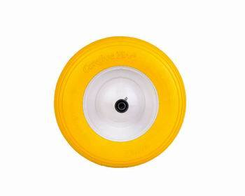 400-8 Yellow PU Foam Lawn Mower Wheels
