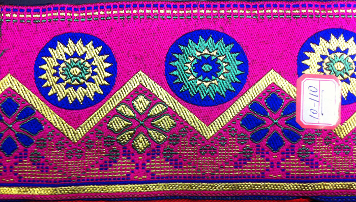 Ethnic Style Garment Lace Embroidery Accessories