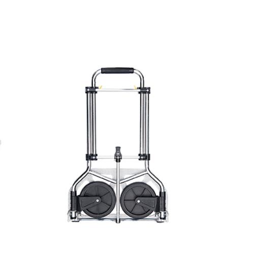 Lightweight Aluminum Supermarket Foldable Luggage Trolley/Folding Han Dtrolley Hand Truck for Sale Gzs70b