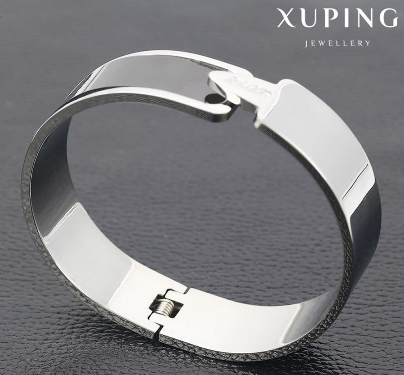 51547 Fashion Simple High Quality Stainless Steel Jewelry Bangle for Women