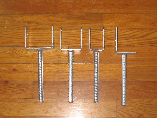 High Quality Post Anchor, Ground Anchor with Galvanized Finish