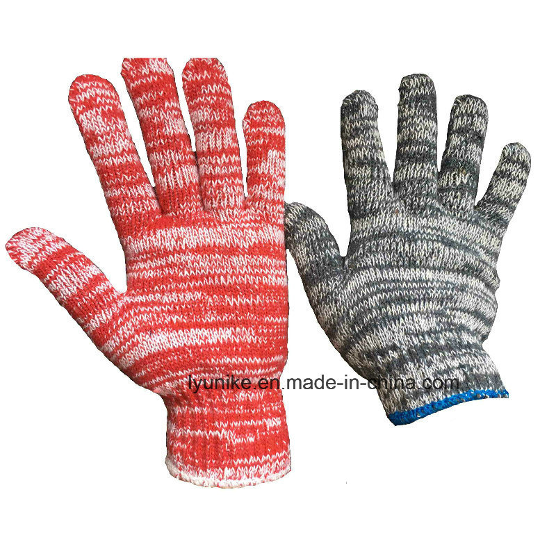 Colorful Tigger Cotton Knitted Hand Protective Gloves