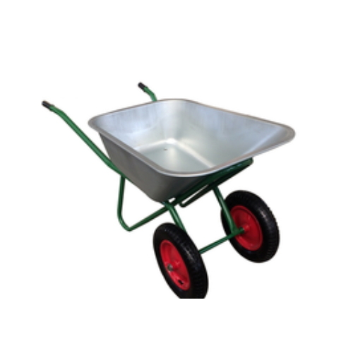 Heavy Duty Hurl Barrow Double Wheel Barrow