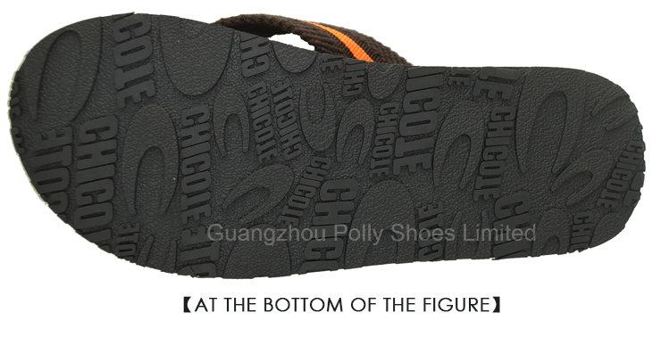 Latitude Mens Vegan Nubuck Strap Flip Flop Sandals Black