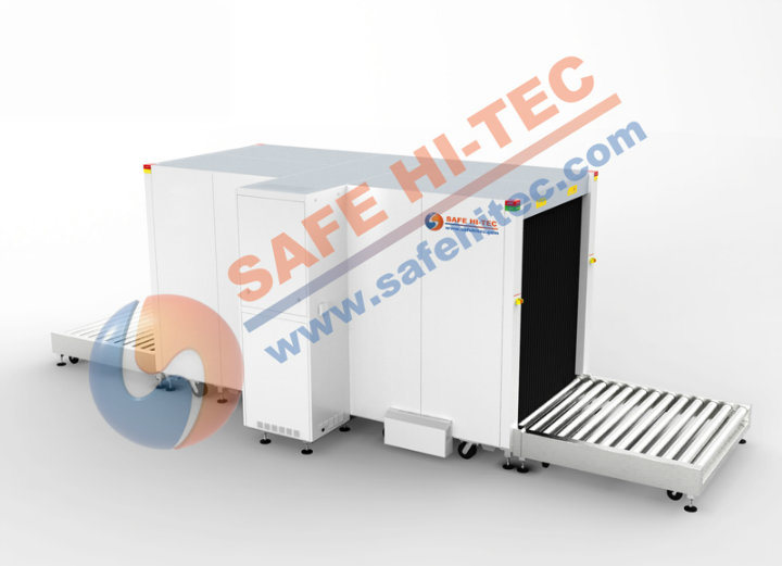 SA150180 Large Size Multi-Energy X-ray Security Inspection System for Cargo Scanning