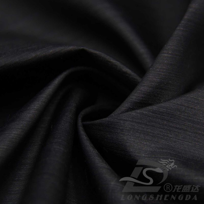 Water & Wind-Resistant Down Jacket Woven Dobby Piano Filaceous Jacquard 20% Polyester+ 80% Nylon Blend-Weaving Intertexture Fabric (H053)