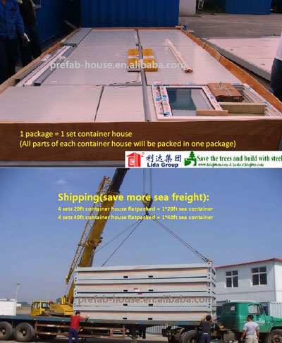 Ten Years of Professional Manufacture 20FT Container House for Sale