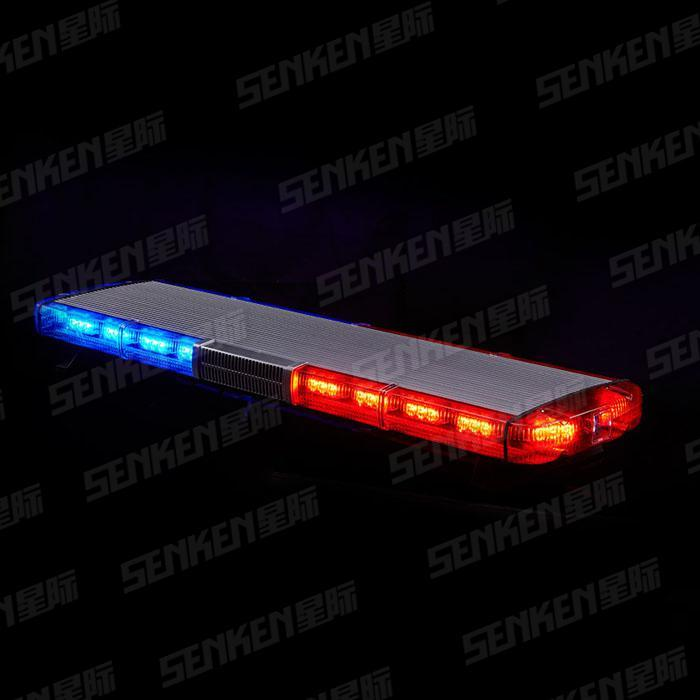 70W 137mm Thin Speaker 4 Colors Emergency Warning Police Car LED Emergency Light Bar