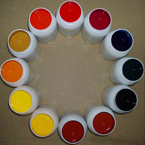 Water-Based Printing Ink for Texitle/Garment/Fabric