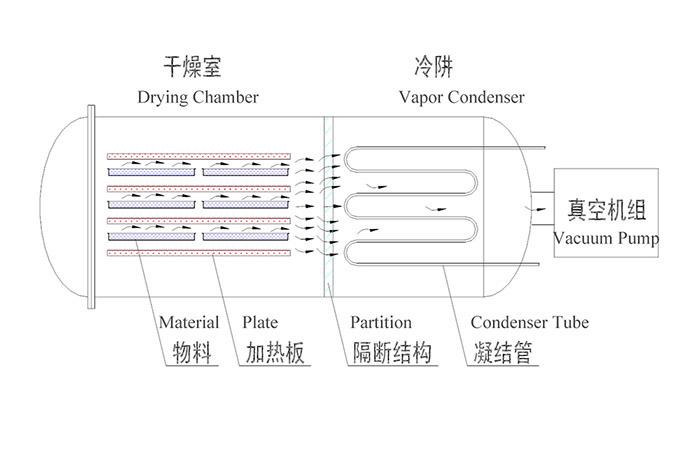 1000 Kg/Batch Hot Sale Vacuum Freeze Dryer Machine for Pet Food