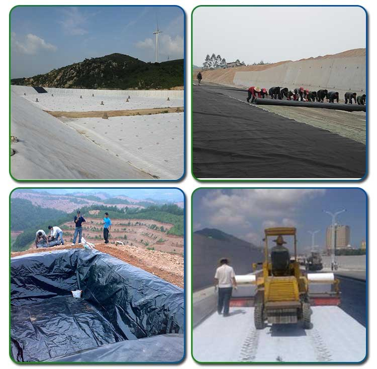 Fish Farm Pond Liner HDPE Smooth Compound Geomembrane