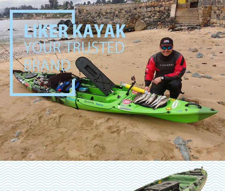 Single Seat Kayak Fishing, Motor Available to Install