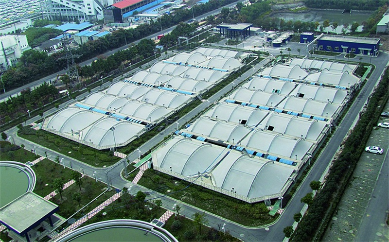 Membrane Structure of Sewage Disposal Plant/Factory