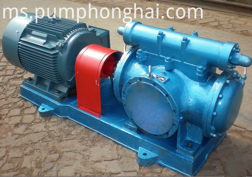 3G horizontal three screw heavy oil transfer pumps