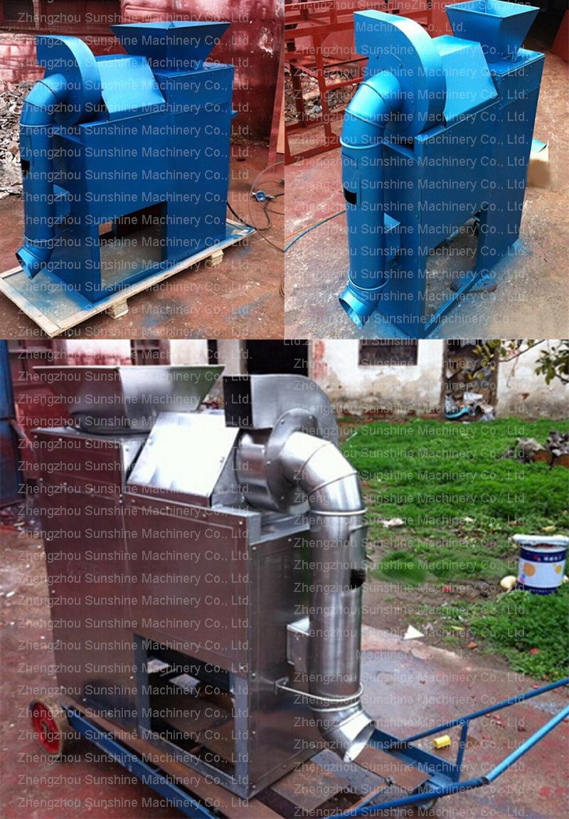 Tk-300 Dry Cowpea Peeler Multi Function Lentil Peeling Machine