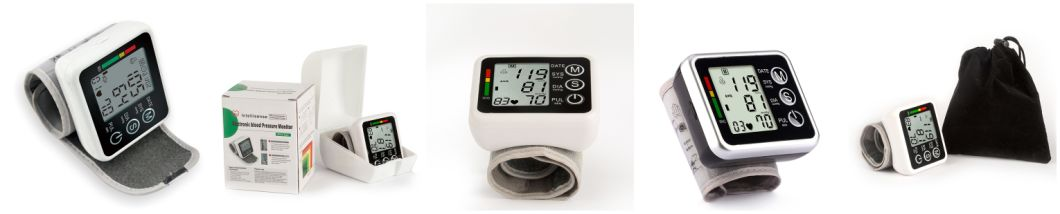 Wrist Blood Pressure Monitor with Storage Box (OLV-002)