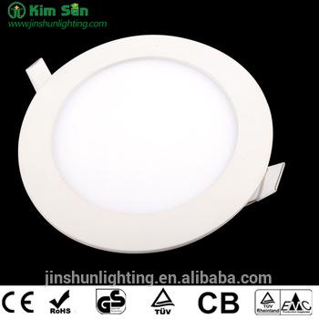High Quality LED panel Light Round 3-24W