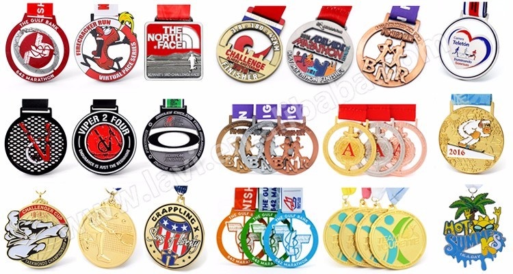 Cheap Customized Logo Engraved Metal Sport Meetings Medallion Blanks for Medal Sale