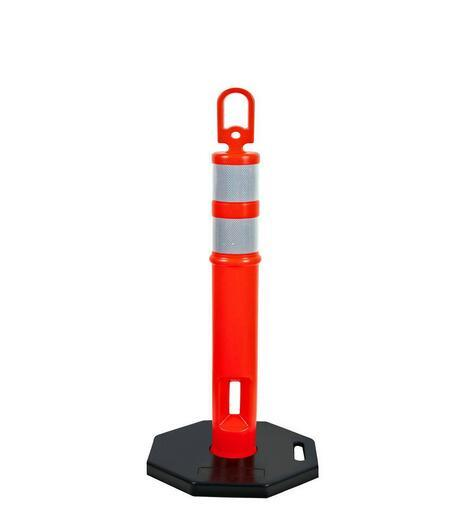Plastic Flexible Traffic Safety Sign Warning Post