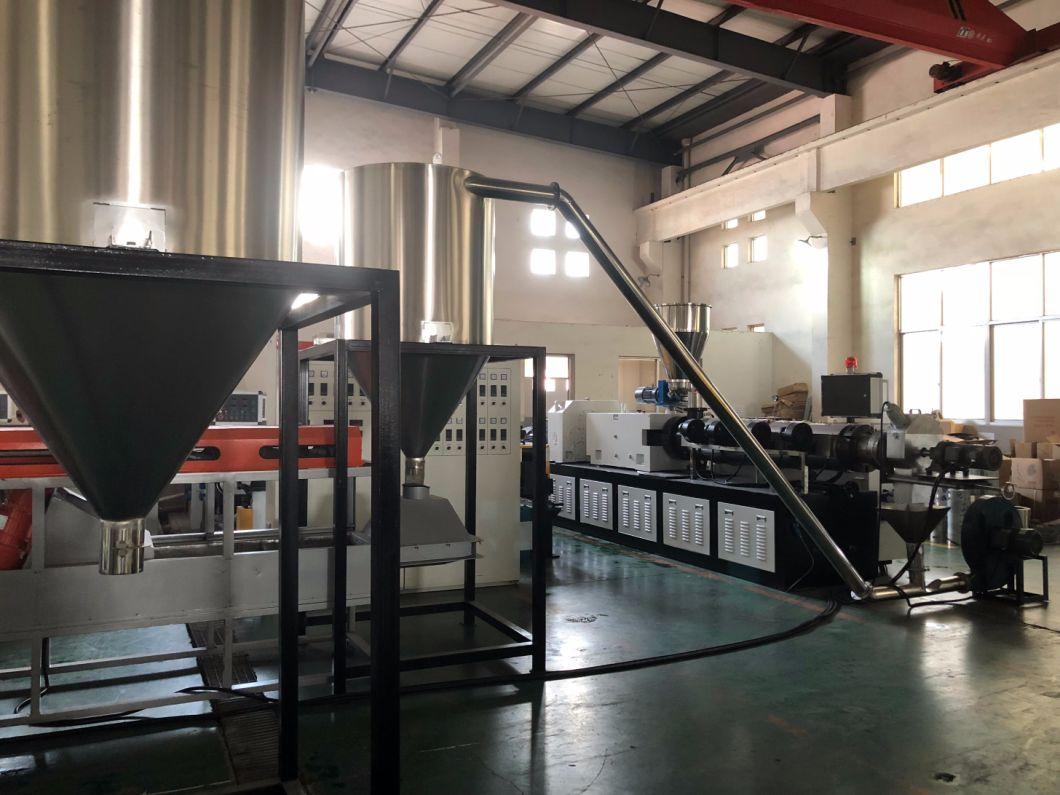 Hot Cutting Air Cooling Soft PVC Granule Making Machine