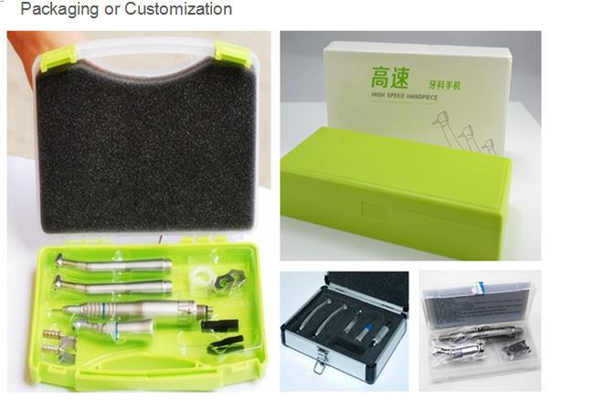 Low Speed Inner Dental 4 Holes Kit Handpiece with E-Generator