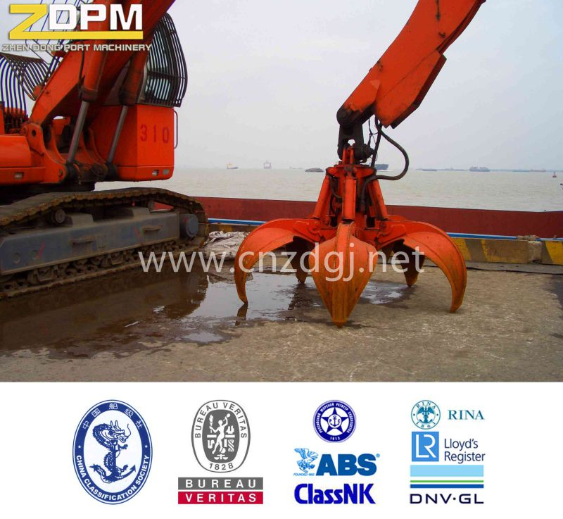 Hydraulic Orangel Peel Excavator Grab for Lifting