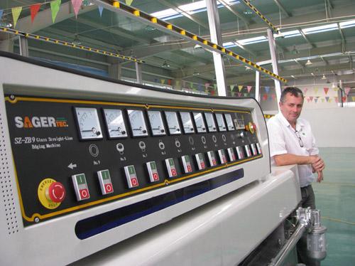Glass Grinding and Polishing Machine