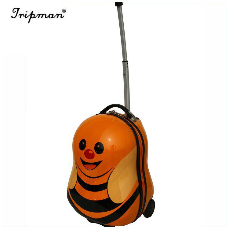 Cute Bee Hotselling Kids Trolley School Bag, Teens Trolley Bags