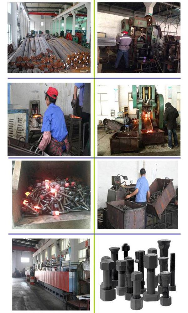 Galvanized Steel 10.9 Grade Huck Bolt