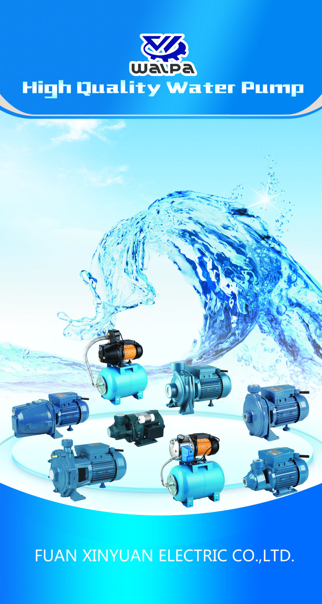 Auto Jet Self-Priming Pump with Stainless Steel Pump Body